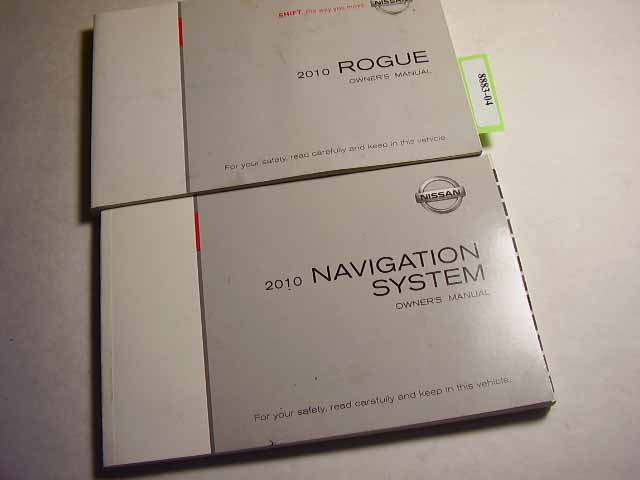 2010 Nissan Rogue with navigation manual Owners Manual