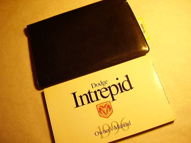 1996 Dodge Intrepid Owners Manuals