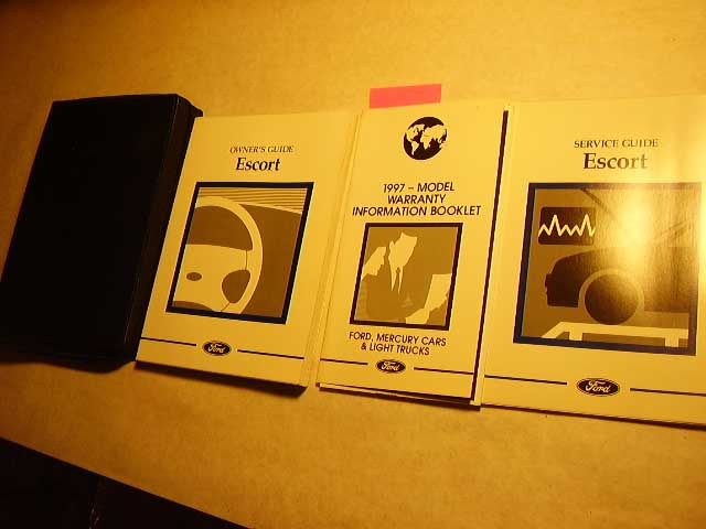 1997 Ford Escort Owners Manuals