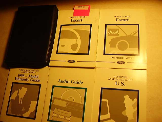 1998 Ford Escort Owners Manuals