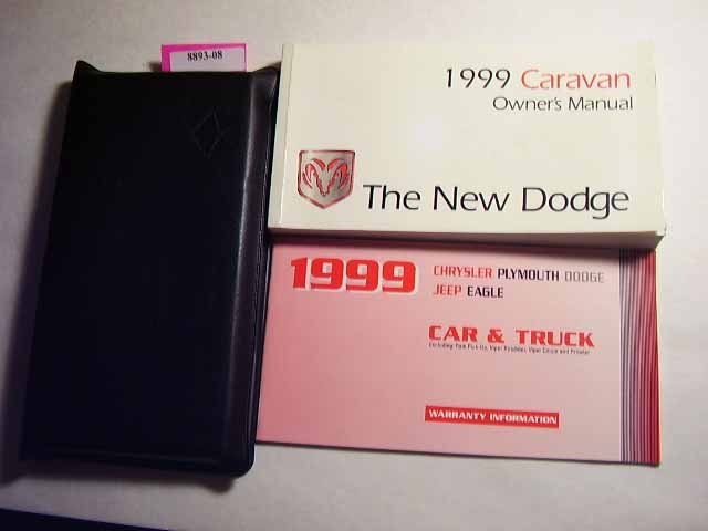 1999 Dodge Caravan Owners Manuals