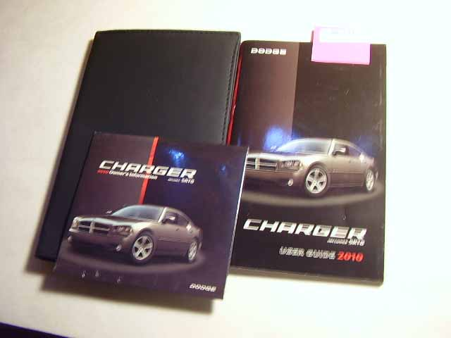 2010 Dodge Charger incl SRT8 Owners Manuals