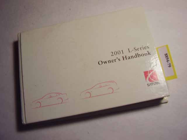 2001 Saturn L Series Owners Manual