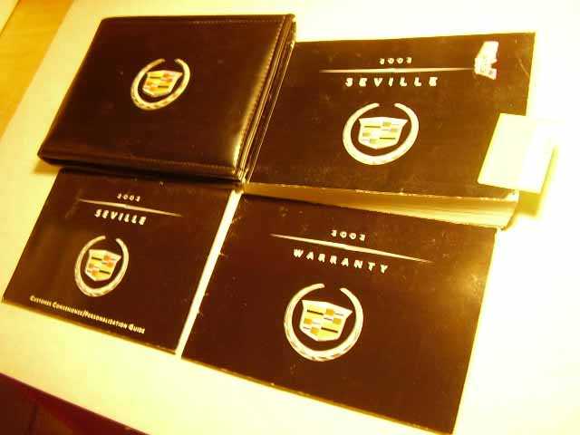 2002 Cadillac Seville Owners Manual