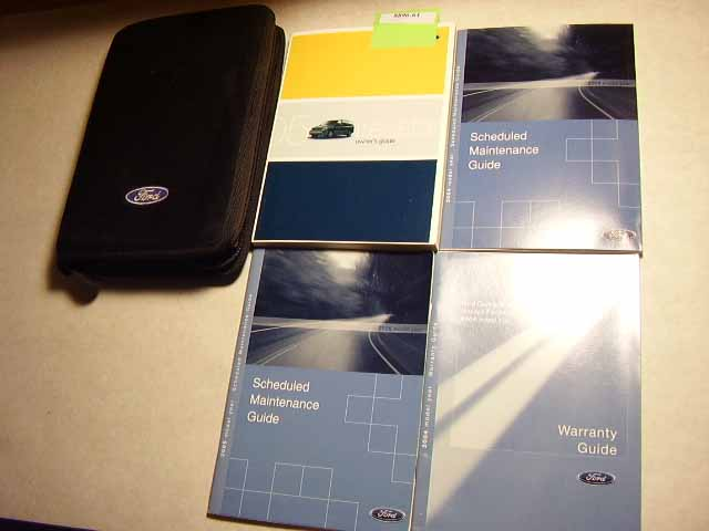 2005 Ford Feestyle Owners Manuals