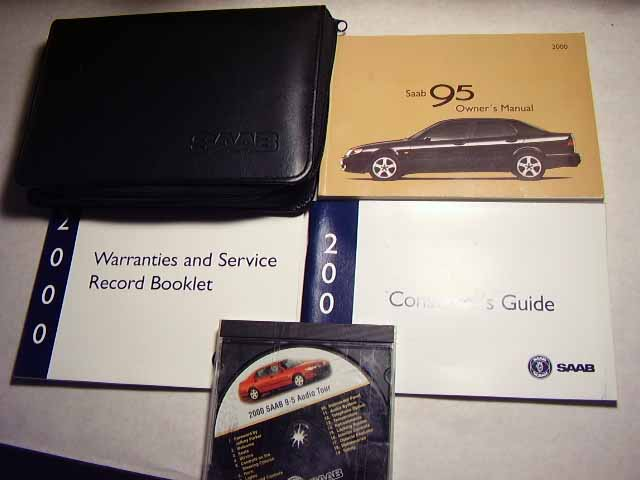 2000 Saab 9.5 Owners Manual