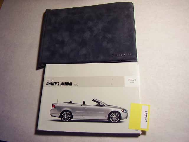 2006 Volvo C70 Owners Manual